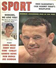 Ingemar Johansson cover Sport 1960