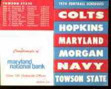Maryland Universitys 1974 Football Schedule