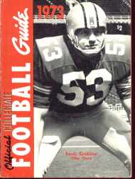 Collegiate Football 1973 Randy Gradishar