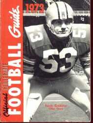 Collegiate Football 1973 Randy Gradishar