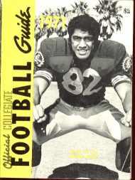 Collegiate Football Guide 1971 Jr Ah You