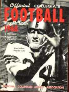 Collegiate Football mag 1968 Ron Sellers