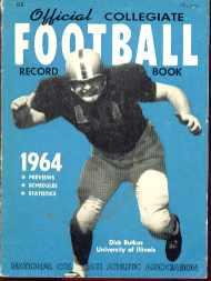 Collegiate Football mag 1964 Dick Butkus