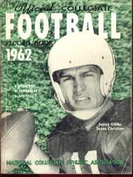 Collegiate Football mag 1962 Sonny Gibbs