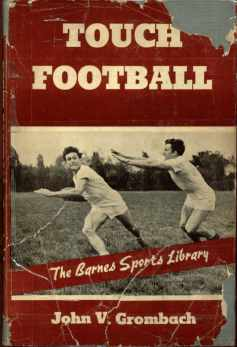 Touch Football Barnes Sports Library 1942