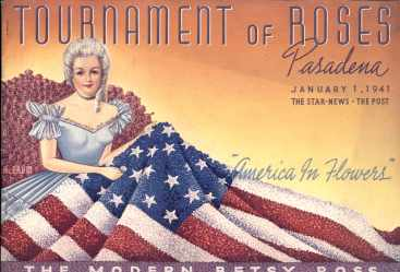 Tournament of Roses 1941 Beautiful program