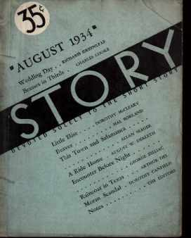 Great Short Stories Aug 1934 Dorothy Canfield