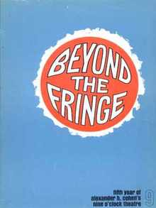 Beyond The Fringe Nine O'Clock Theatre 1965