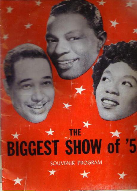 The Biggest Show of '51, souvenir program