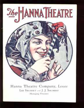 Beautiful Program 1931 Helen Hayes great art