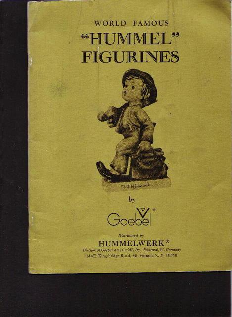 Hummel Figurines catalogue