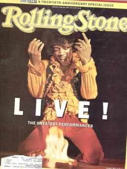 Jimi Hendrix on Rolling Stone June 1987