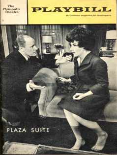 Playbill Plaza Suite 1968 EG Marshall &