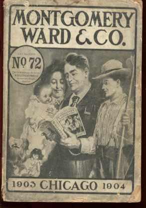 Montgomery Ward Catalog 72 1903-4 Beautiful
