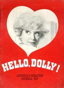 Hello Dolly Carol Channing 1960s? program