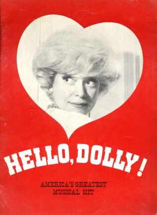 Hello Dolly Carol Channing 1960s? program