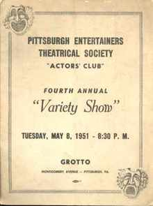 Theatrical Society Actors Club Variety Show
