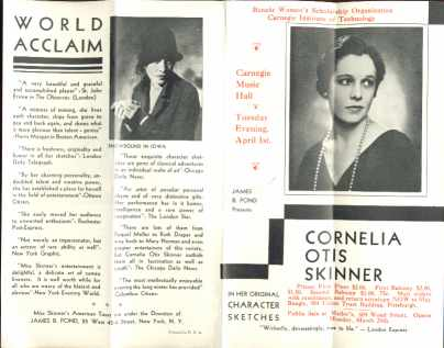 Cornelia Otis Skinner 1930 Beautiful Photos