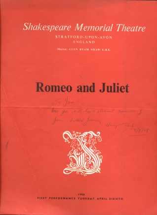 Shakespeare Memorial Theatre England 1958