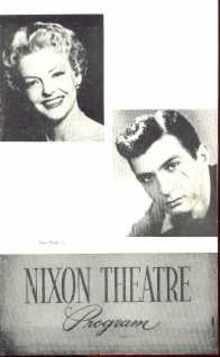 Fanny 1957 Italo Tajo & Billy Gilbert program