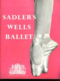 Sadler Wells Ballet 1953 Margot Fonteyn
