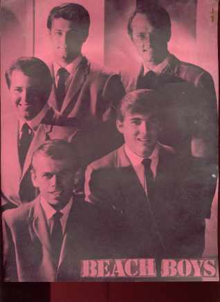 Great Beach Boys Poster Aspen Mag 1966 RARE