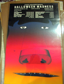 HALLOWEEN MADNESS  POSTER 1980