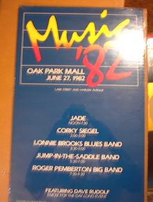 MAGIC `82 CONCERT POSTER 1982