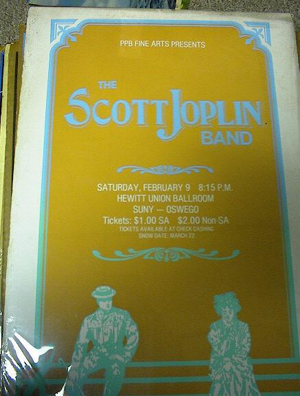 PPB PRESENTS THE SCOTT JOPLIN BAND 1980