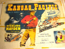 KANSAS PACIFIC *ING STERLING HAYDEN 1953