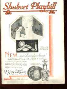 Beautiful Shubert Playbill 1928 great ads