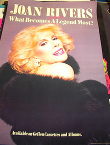 JOAN RIVERS SEMI WHAT BECOMES A LEGEND MOST