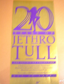 JETHRO TULL 20-YEARS OF JETHRO TULL ALBUM.