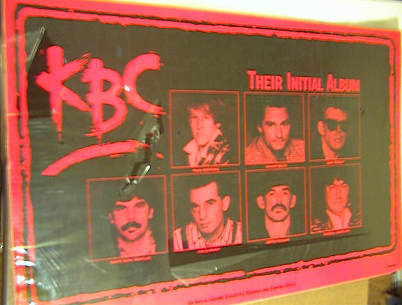 KBC THE INITIAL ALBUM POSTER