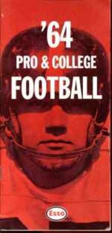 Esso pro & college football guide 1964