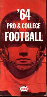 Esso pro & college football guide 1964