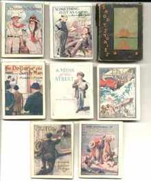 rare mini books circa 1915 Poe Cullen Others