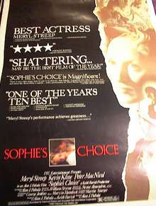 SOPHIES CHOICE*ing MERYL STREEP