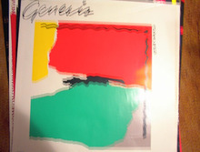 VERY COLORFUL POSTER OF GENESIS ABACAB
