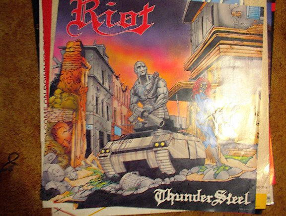 RIOT THUNDER STEEL POSTER PRETTY COOL