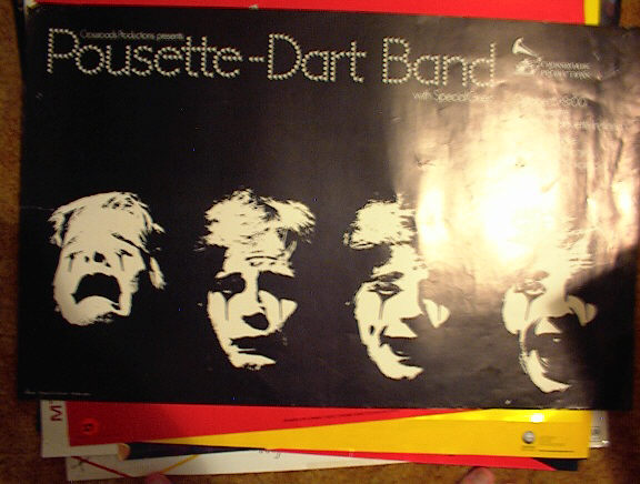 POUSETTE-DART BAND CONCERT POSTER