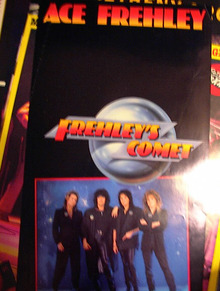 ACE FREHLY FREHLY'S COMET POSTER