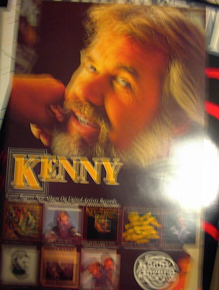 KENNY RODGERS ALBUM POSTER