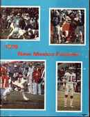 Univ New Mexico Football 1978 great photos