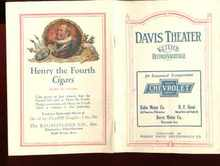 davis theater keiths vaudeville 1923 program