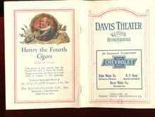 davis theater keiths vaudeville 1923 program