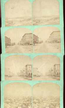 Rare Weber Erie PA 4 Cards circa 1870s