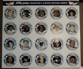 jiffy pop collectors ltd ed sheet 1988 n m