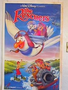 WALT DISNEY THE RESCUERS