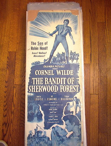 CORNEL WILDE THE BANDIT OF SHERWOOD FOREST